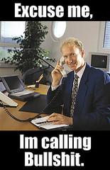 calling bullshit