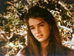 Brooke Shields (Microscopic photo of original ...
