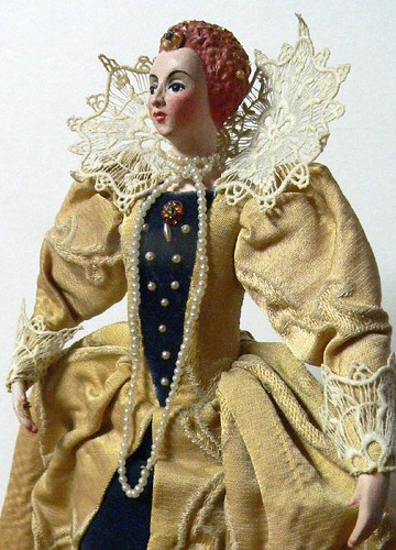 Queen Elizabeth I Doll