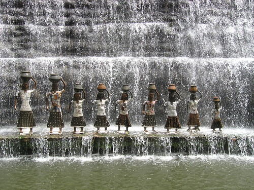 Nek Chand Waterfall