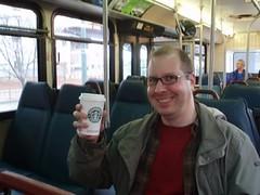 New glasses and Starbucks