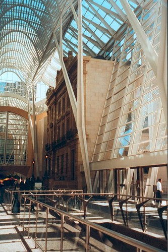BCE Place in Toronto. See the old and the new?