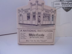 An old White Castle box