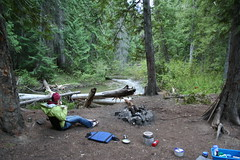 Camping spot near 8 Mile Creek