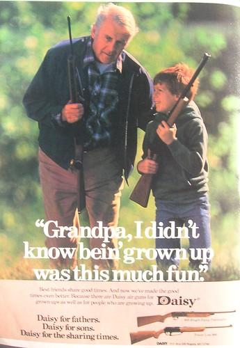 Divertirse junto al abuelo