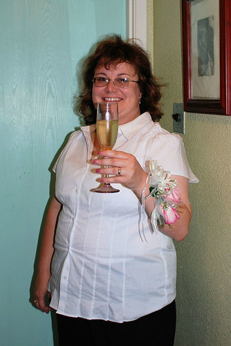 Bride Before the Toast
