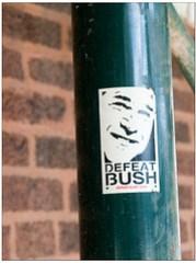 re-defeat bush