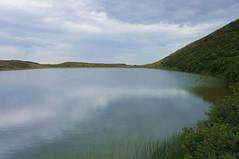 Lacul Vulturilor vazut de langa izvor