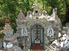 Temple of the Fairies at Ave Maria Grotto, Cullman AL