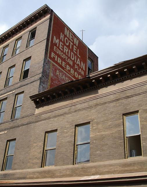 Hotel Meridian Sign, Meridian MS