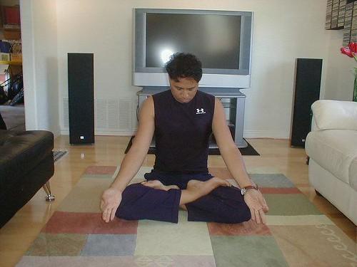 Randomguru in Meditation