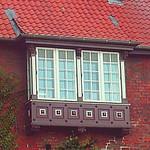 Dichterfenster im Burgtor Lübeck