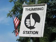 Thumbing Station