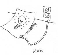 """""""idea"""" © 2005 by Tony Dowler"""