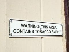 Warning: This Area Contains Tobacco Smoke