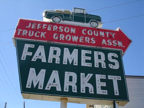 Jefferson County Farmer's Market, Birmingham AL