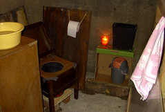 48 temporary compost toilet