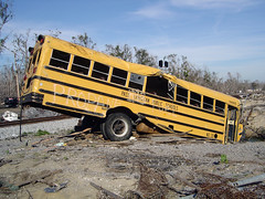 Post-Katrina School Bus