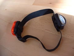 Head Lamp and backlight (LEDs)