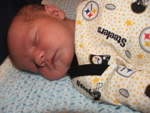 Snoozing to the Steelers