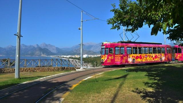 Картинки по запросу nostaljik tramvay antalya