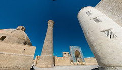 The heat, the day, the square. Bukhara