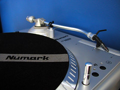 one turntable and, umm, no microphone