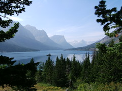 Wild Goose Island and Saint Mary Lake
