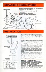 Pong Owner's Manual - Page 2