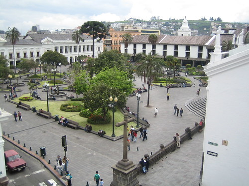 Quito Plaza de Independencia