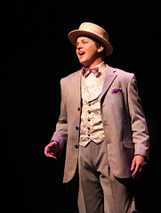 Jason Forbach as Freddy Eynsford-Hill in My Fair Lady, produced by Music Circus at the Wells Fargo Pavilion June 9-14, 2015. Photos by Charr Crail.