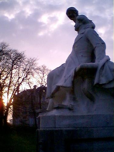Alfred de Musset at sundown
