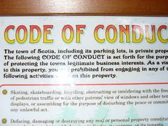 conduct!
