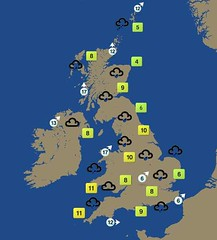 BBC Weather for 30th Nov 2005