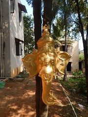 The Legend Kuchipudi Dancer Dr. Vyjayanthi Kashi's Shambhavi School of Dance Outside Photography By Chinmaya M.Rao  (254)