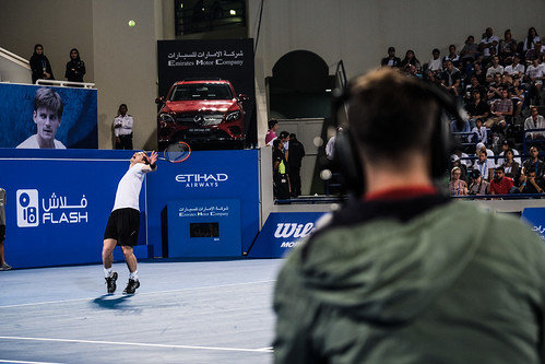 """Andy Murray's service against David Goffin • <a style=""""font-size:0.8em;"""" href=""""http://www.flickr.com/photos/125636673@N08/31616213230/"""" target=""""_blank"""">View on Flickr</a>"""