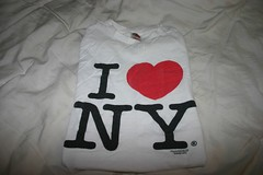 The girl from Chi has a I heart NY shirt?