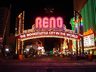 Reno, Nevada - Welcome Arch
