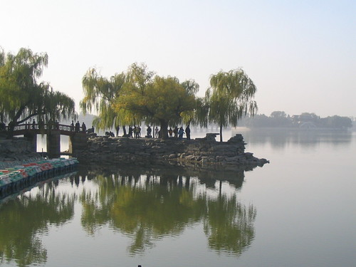 Summer Palace bridge and lake