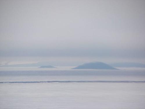 Fog over Ross Sea