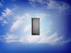 Would you go through that door?