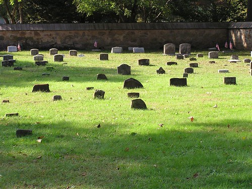 Cemetery of Quaker Church, Princeton, NJ by Ken Kuhl.
