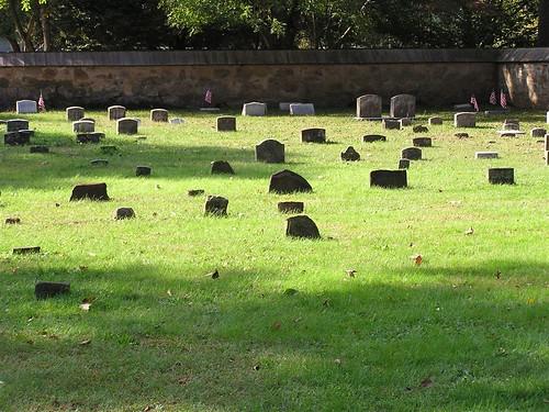 Cemetery of Quaker Church, Princeton, NJ by Ken Kuhl.