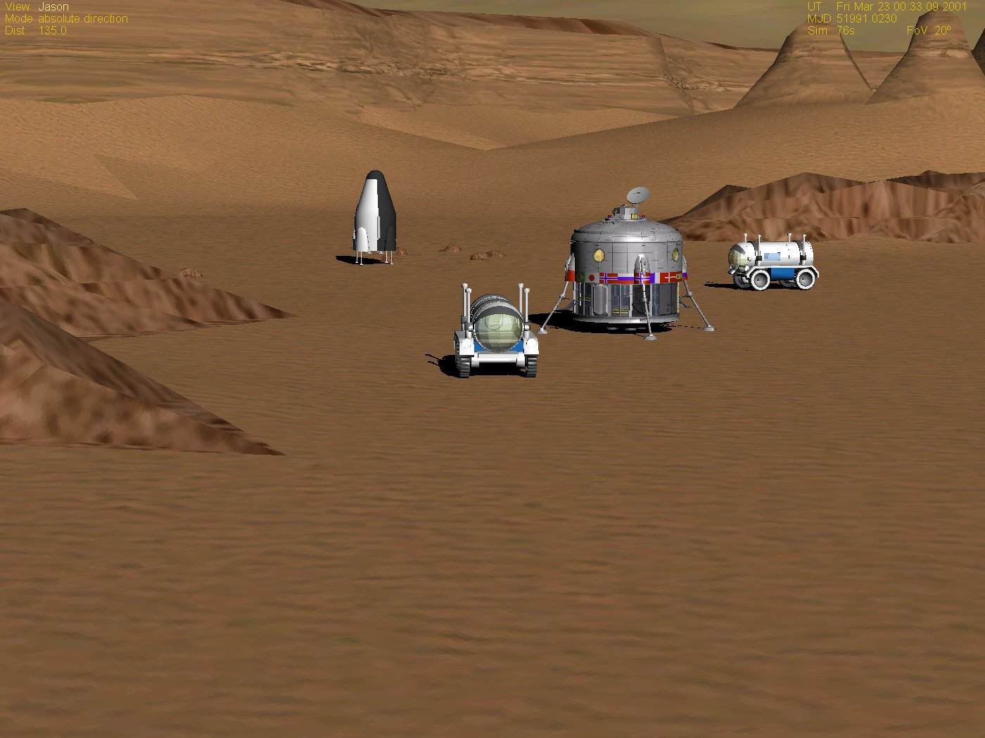 Mars direct