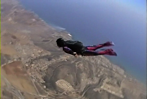 skydiving over Pyla, Cyprus