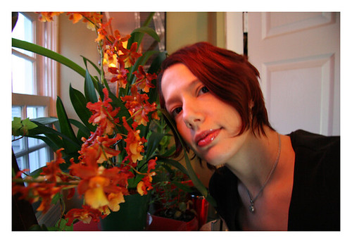 me and the orchid