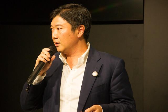 アイファイジャパン代表取締役 田中大祐氏