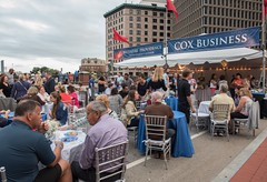 Cox Business Tent