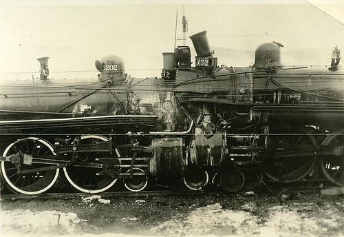 Train Wreck, Steam Locomotives by born1945.