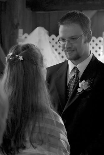 Ceremony: Dan says his vows